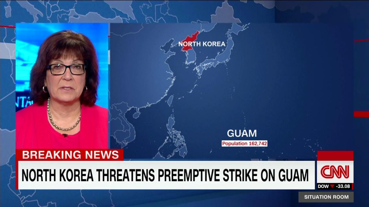 North Korea threatens preemptive strike on Guam YouTube