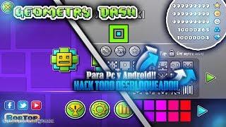 GEOMETRY DASH 2.11 HACK!! (ORBES, DIAMANTES, LLAVES & MÁS) Todo Desbloqueado!!!! Para PC y ANDROID