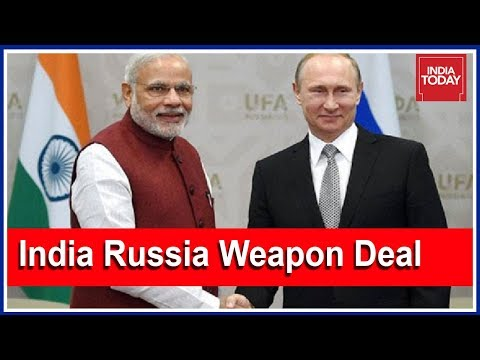 Modi & Putin Sign Biggest Ever Missile Deal; Big Diplomatic Win For India   5ive Live