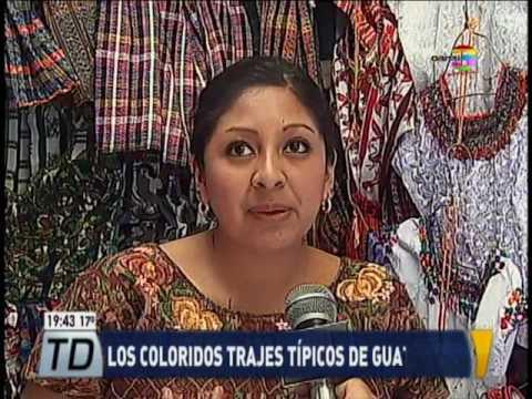 784b754eef Los coloridos trajes típicos de Guatemala - YouTube