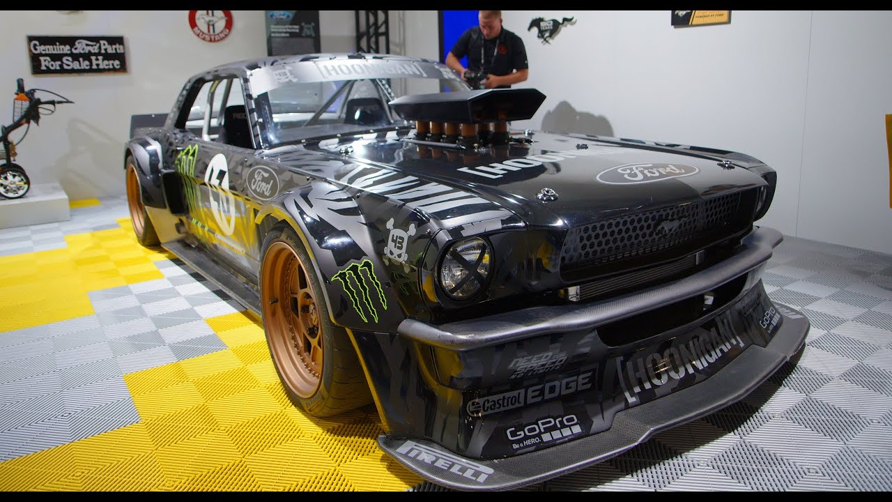 1965 Mustang Awd Quot Hoonicorn Quot At Sema 2014 Youtube