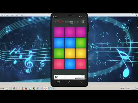 Drum Pad Machine   Make Beats ANDROID APP REVIEW And TUTORIAL