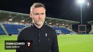 Chesterfield 2-0 Salford City | Graham Alexander post match interview