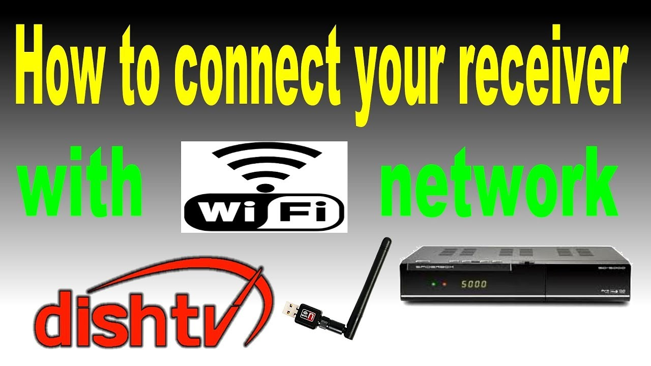 How to connect your receiver with wifi