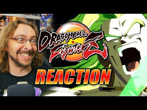 MAX REACTS: BROLY Gameplay Reveal - DRAGONBALL FIGHTERZ