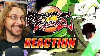 MAX REACTS BROLY Gameplay Reveal - DRAGONBALL FIGHTERZ