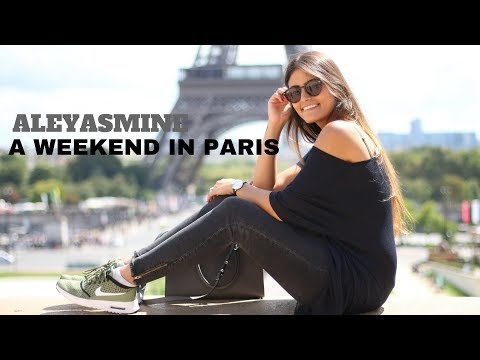 WEEKEND IN PARIS I NO CROP VLOG I ALEYASMINE - Itsfarahyasmine