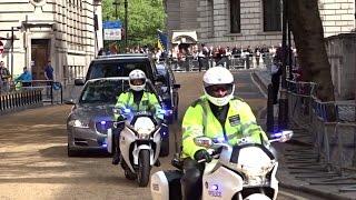 London Metropolitan Police SEG Convoys - VE Day 70th Anniversary