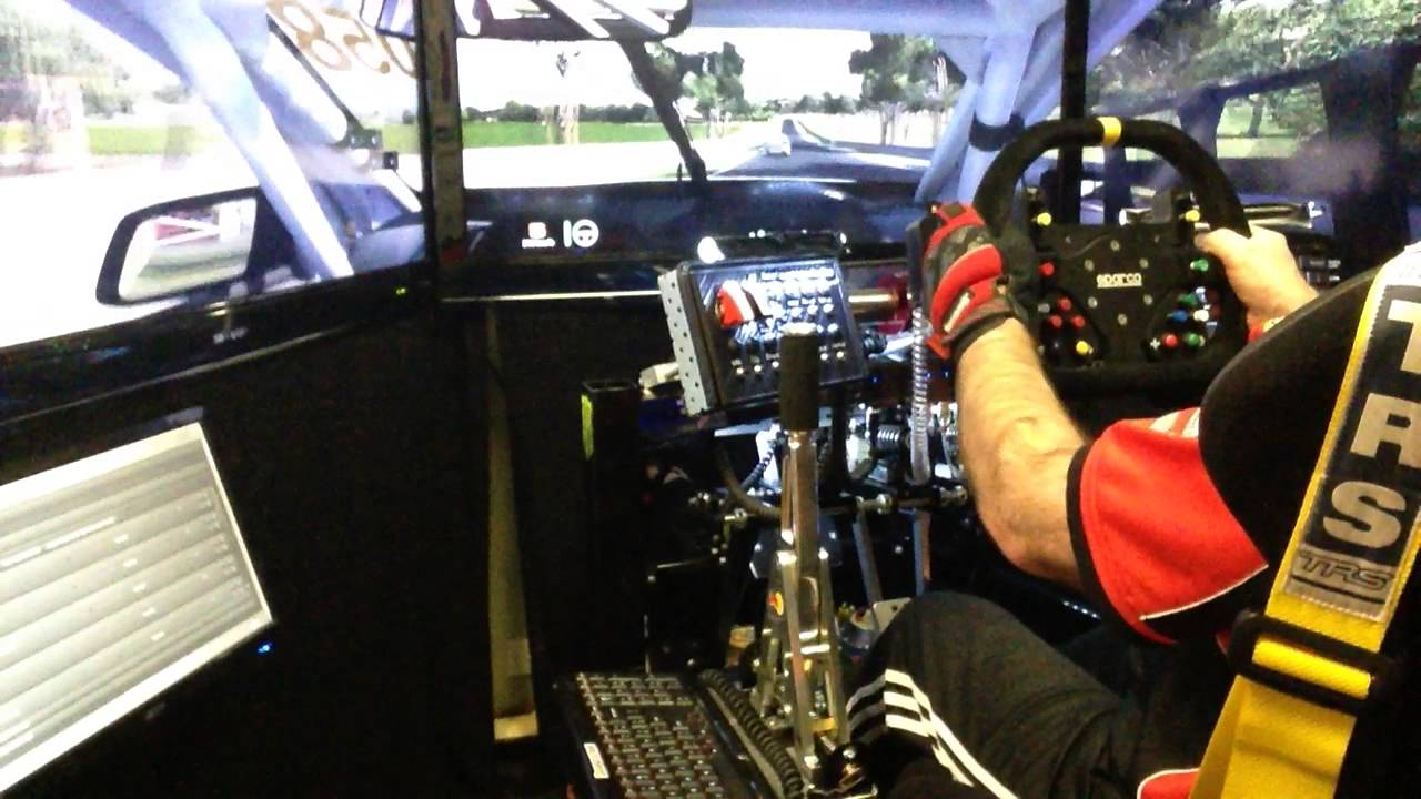 SimXperience Stage 5 Series Simulator with traction loss & Vibration