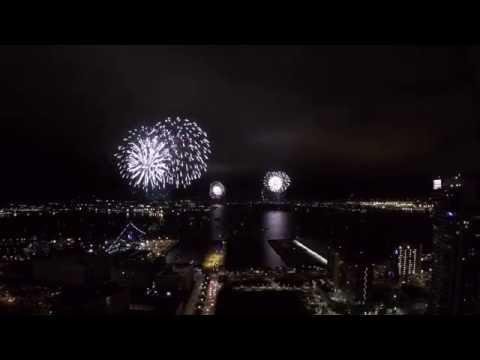 4th of July 2016 Big Bay Boom Fireworks Show San Diego, CA Sky View!