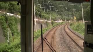 【山形線】<前面展望>米沢→福島 719系