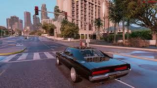 Grand Theft Auto 5 4k Dodge Charger Rt 1970 - Redux - Nvr - Mvga - Gta 5  4k 60f