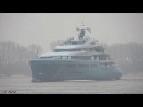 Mega Yacht AVIVA | Weser höhe Brake Unterweser