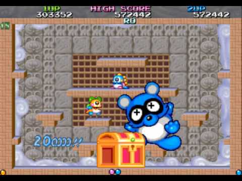 how to play bubble bobble