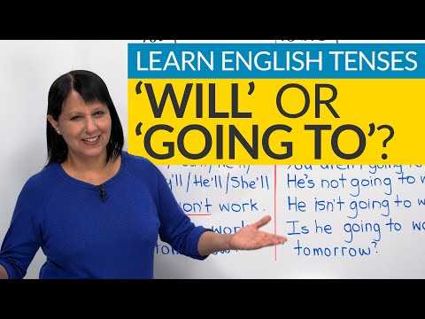 "Learn English Tenses: FUTURE  – ""will"" Or ""going To""?"