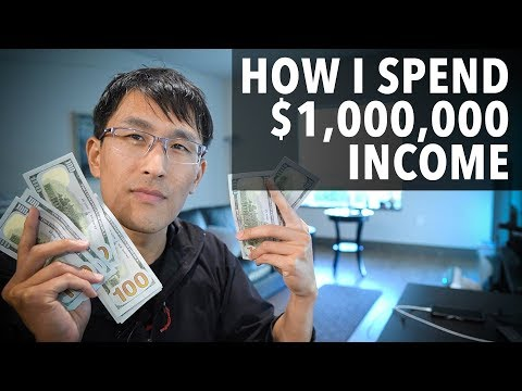 How I Spend My $1 Million Income. (as A Millionaire)