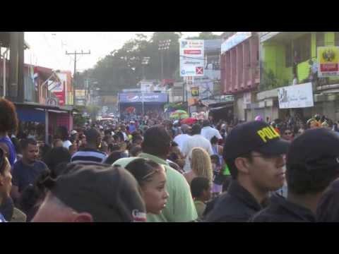 Puerto Limon, Costa Rica Carnavales! crazy!