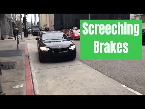 Squeaky BMW brakes