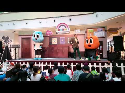 March 2016 Amazing GUMBALL Live Show@city square mall singapore