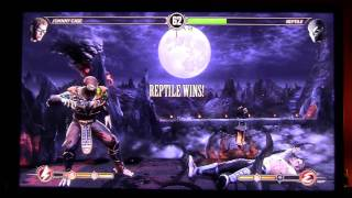 MK9 - AlexDC22 (JC) VS Alex Jr ***A.K.A. icecold2touch*** (Reppy) Yes Dad Got PWNED by Jr. lol