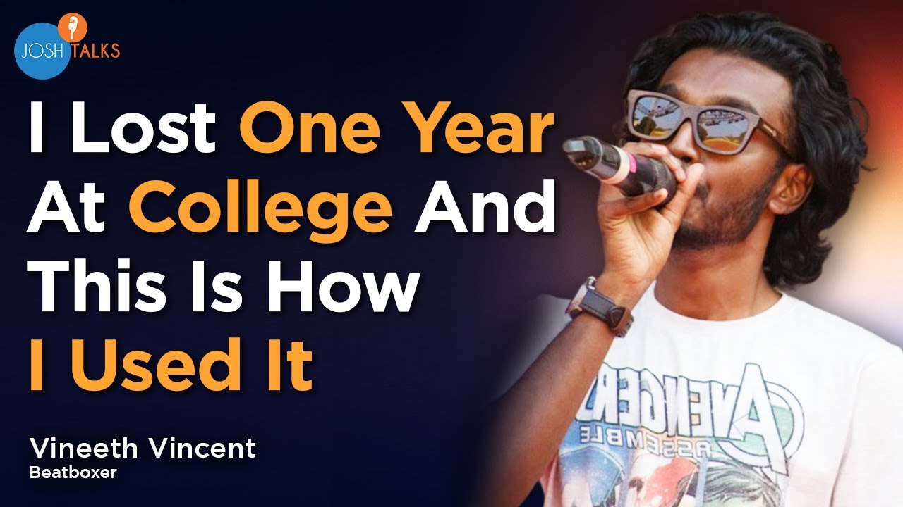 How to fight all odds and make a career in music? ⚡ | Vineeth Vincent - Beatboxer
