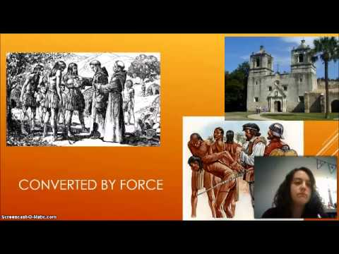 Spanish and Native Americans Video