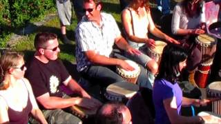 tribal spirit drum circle galway
