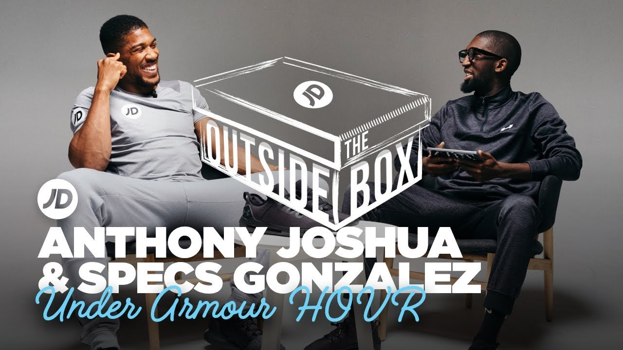 """Download """"I Was Training To Be a Brick Layer"""" Anthony Joshua & Specs Gonzalez   JD Outside The Box"""
