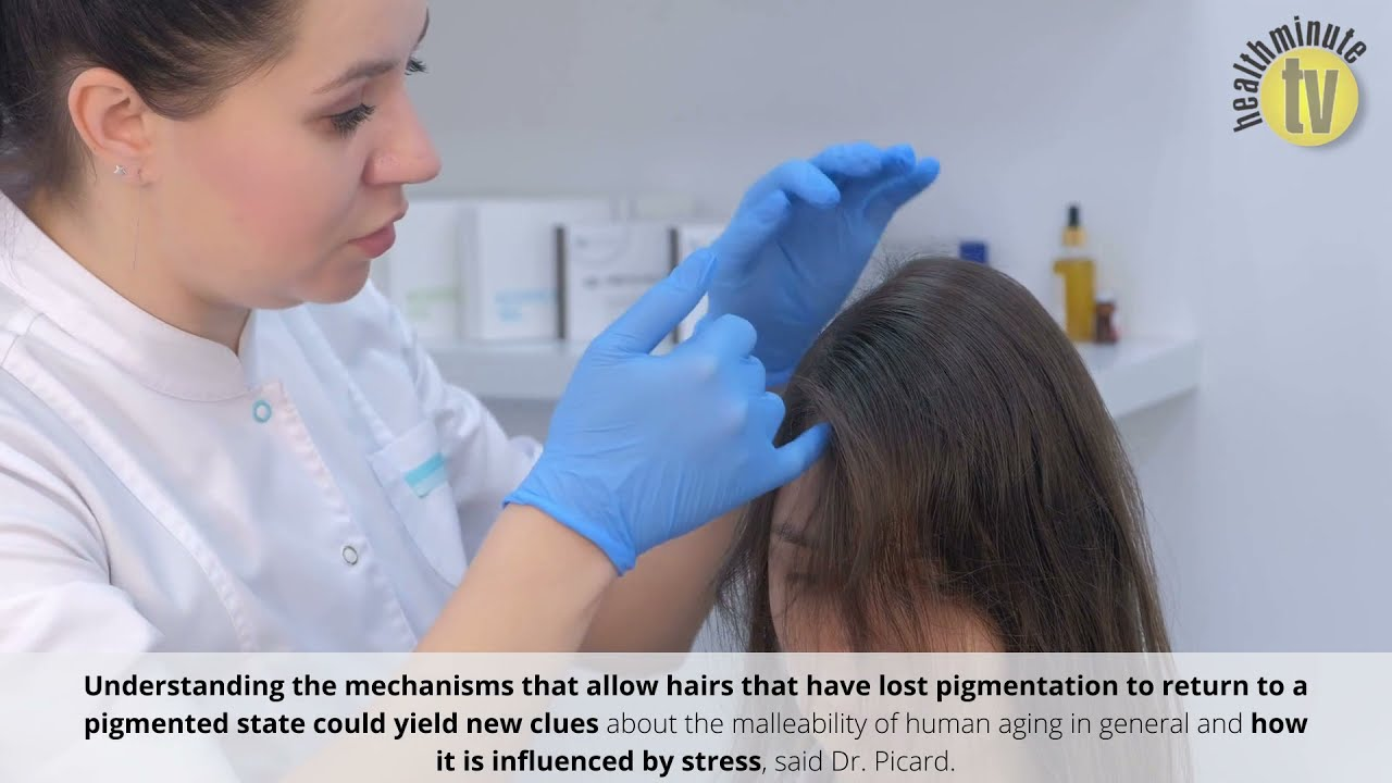 VIDEO: New research shows reducing stress can reverse greying of hair