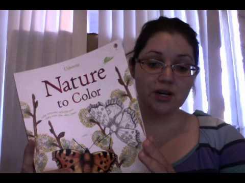 Usborne Nature Coloring Books