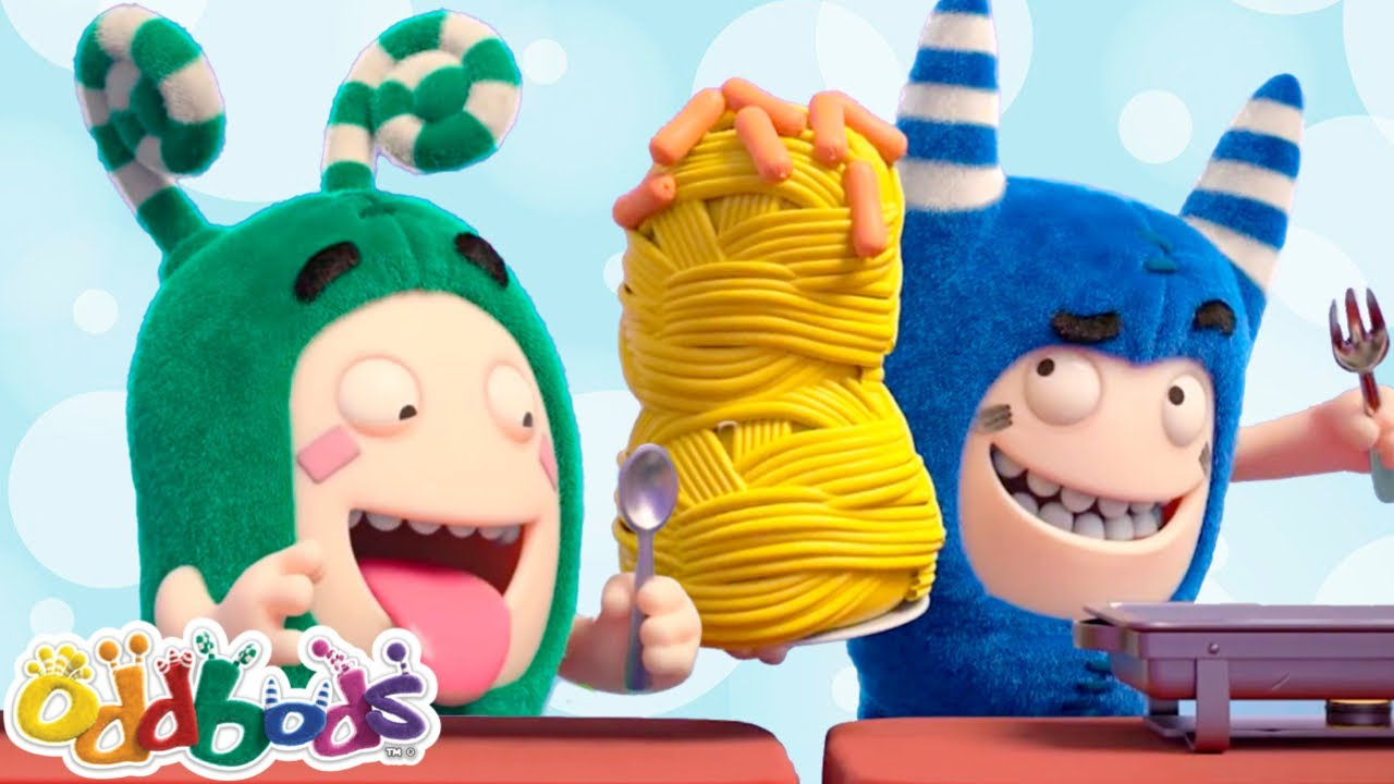 ODDBODS' Tummies Are Satisfied | Cartoons for Children