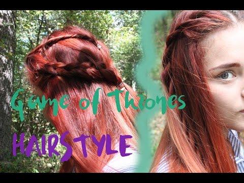 Прически с сериала Игра Престолов\ hairstyle
