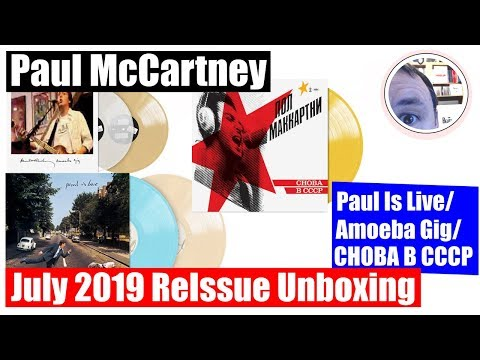 Paul McCartney 2019 Reissue Unboxing Paul Is Live CHOBA B CCCP Amoeba Mp3