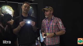 Litra LED at the Adelaide 4WD Show with Graham Cahill