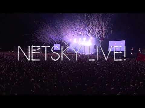 Netsky LIVE! At Lotto Arena 27.04.13 Promo
