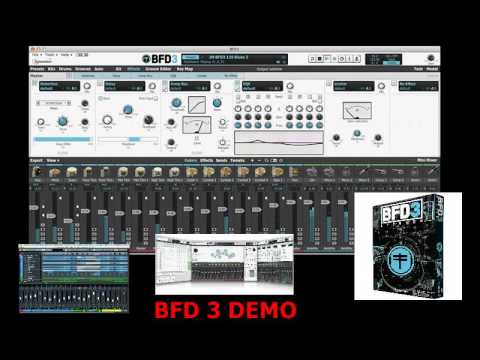 SESSION HORNS PRO and BFD 3 Demo