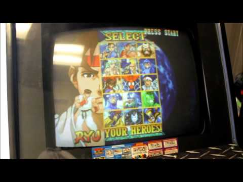 Marvel Vs Capcom Arcade Cabinet