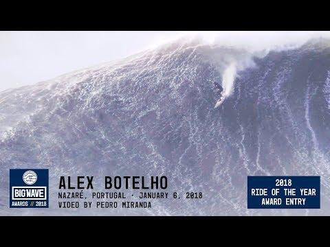 Alex Botelho at Nazaré  - 2018 Ride of the Year Award Entry - WSL Big Wave Awards
