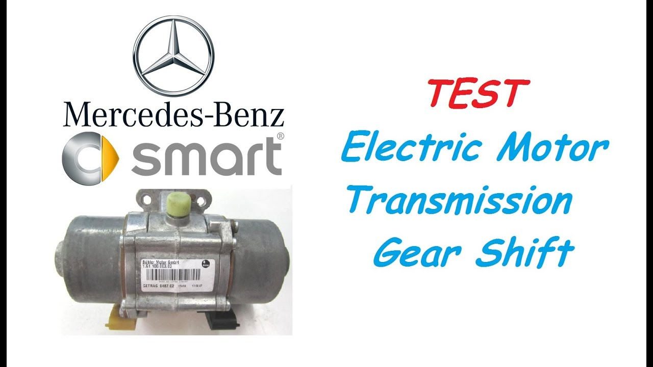hight resolution of smart fortwo 451 test electric motor transmission gear shift