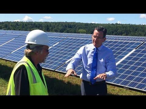 Solar farm in Somers is helping bring cheaper, cleaner energy to Connecticut