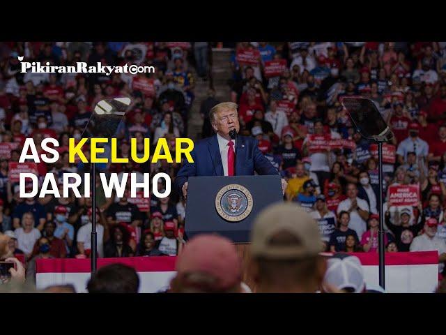 Donald Trump Resmi Tarik AS Keluar dari WHO, Joe Biden dan Nancy Pelosi Berikan Tanggapan