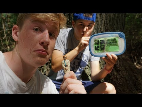 REAL LIFE TREASURE HUNTING! | Geocaching with Leah