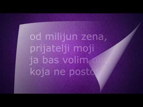 Toni Cetinski - Od milijun žena ( Lyrics/Tekst )