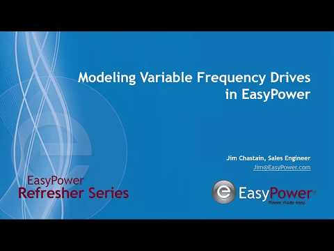 Variable Frequency Drive (VFD) Set Up in EasyPower