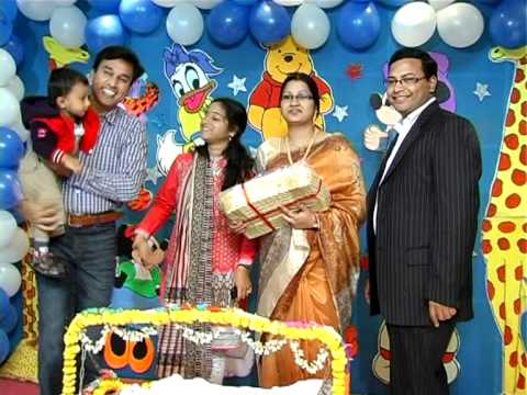 Tanvisri cradle ceremony doovi for Baby palna decoration