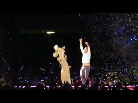 Coldplay SKY FULL OF STARS Bastille Day 2017 Paris, France