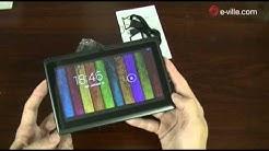 """Diel Scorpion 7"""" huippuedullinen Android 4 tablet - Unboxing - e-ville.com"""