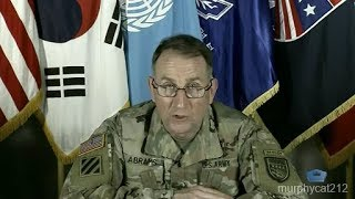 Top United States Forces Korea Official Briefs Reporters