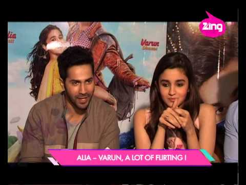 Alia Bhatt -- Varun Dhawan a lot of flirting