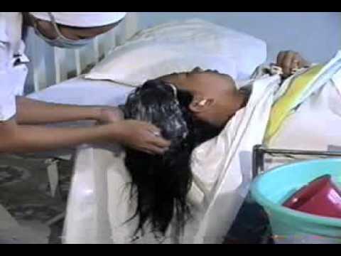 4.Săn sóc Bệnh nhân Tai biến - Gội Đầu Tại Giường